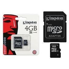 Kingston Scheda di Memoria Micro SD 4gb Classe10 SDHC MicroSD Smartphone