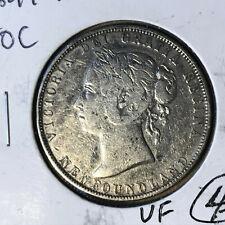 1899 Newfoundlands 50 Cents Silver Coin