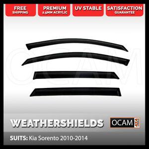 OCAM Weathershields For Kia Sorento 2010-2014 Window Door Visors Windshields