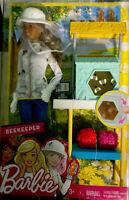 NEW Barbie Beekeeper Careers Playset Doll is African American Brunette Beehive