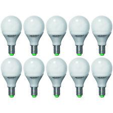 10x MM05102i Megaman Energiesparlampe Noblesse matt E14 5W Warmweiß Leuchtmittel