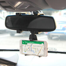 Car Back Mirror cell phone holder