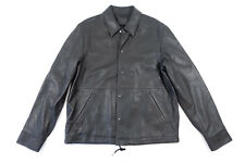 ALEXANDER WANG 605011S17 BLACK 36 46 100% LAMBSKIN LEATHER JACKET MENS NWT NEW