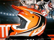 FLY Kinetic Fullspeed Cross Enduro Helm NEU Quad L KTM Orange matt Thor Airoh SX