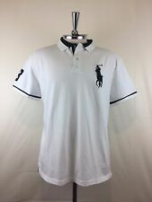 Polo Jeansco # 3 Mens Short-Sleeve T-shirt White Size XL