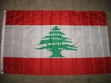 3x5 Lebanon Lebanese Super-Poly Flag 3'x5' House Banner