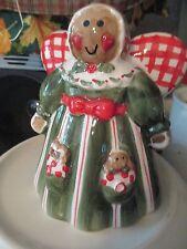 Gingerbread Christmas Angel~ Odor Eater ~ Ceramic Figure