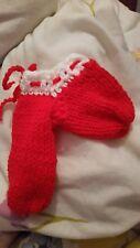 handmade personalised christmas knitted crochet red willy warmer secret santa.!-