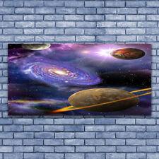 Leinwand-Bilder Wandbild Leinwandbild 140x70 Kosmos Weltall