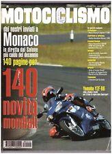 10 1998 MOTOCICLISMO - YAMAHA YZF R6 - TRIUMPH LEGEND TT 900 - HARLEY BLUSTER
