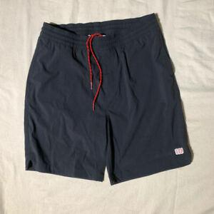 "Topo Designs Global Shorts 7"" Black Mens Size L"