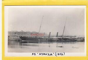 NYANZA 1864 P&O passenger paddle steamer  -Photograph