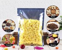 100PC Heat Seal Aluminium Foil Bags Grade Food Bag Storage Pouches Sealer Vacuum