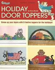 Holiday Door Toppers Plastic Canvas Patterns The Needlecraft Shop Easter Fall