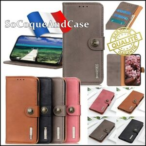 Etui coque housse KHAZNEH ELEGANT Stand Wallet Case Cover OnePlus Nord CE