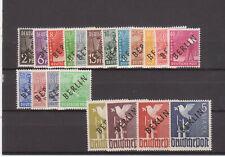 Berlin 1948, Schwarzaufdruck, Mi-Nr.1-20, postfrisch, komplett geprüft Schlegel