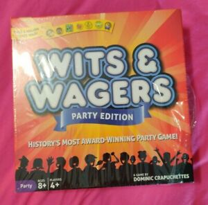 Wits & Wagers Party Edition Game  New Sealed NorthStar Games Wits and Wagers