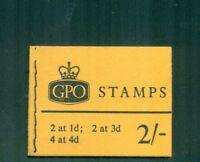 Great Britain  2s Wilding Phosphor  July 1967  Booklet  SG N29p