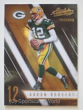 AARON RODGERS  - Panini Absolute Football 2016 #67 (Green Bay PACKERS)