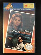 Het Meisje Met Het Rode Haar Ex-Rental Vintage Big Box VHS Tape Dutch NL Film
