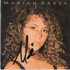 """Mariah Carey Autogramm signed CD Booklet """"Mariah Carey"""""""