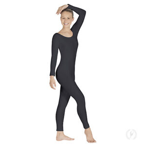 Eurotard Adult Long Sleeve Cotton Unitard style #10129