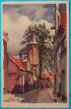 AK 1930er? Harderwijk - Linnaeustorentje - Gelderland Turm Burg Schloß