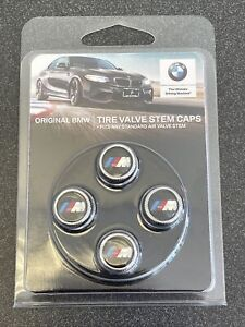 CHEAPEST GENUINE oem BMW M Logo Valve Stem TIRE Caps 36110421543