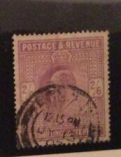 G B. Edward 7. 2/6 Lilac. Sg 316. Good/fine Used