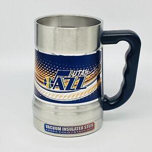 Utah Jazz Vacuum Insulated Stainless Steel 15 oz Mug