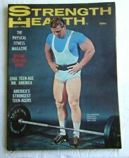Vintage Bodybuilding Muscle Gay Interest Magazine Strength & Health 1966