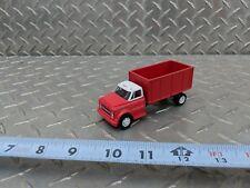1/64 farm custom Chevrolet c60 red white grain truck toy dcp greenlight