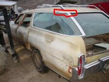 UPPER ROOF POST TOP TRIM MOLDING - LH - 1971-76 GM FULL SIZE WAGON 76CW1-5G4