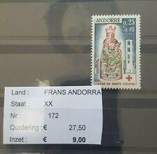 Z 278 - Andorre Française - N° 142