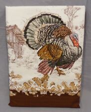 "Williams Sonoma Plymouth Turkey 70x108"" Tablecloth"