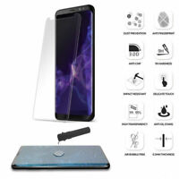 3D Curved Tempered Glass Nano Liquid Screen Protector For Samsung Galaxy S8 S9