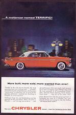 1955 Vintage Chrysler Windsor Coupe Car Photo vintage print ad