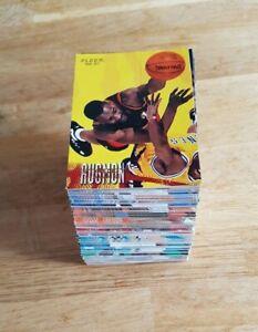 96-97 Fleer European NBA Basketball Cards: 1 to 180 - Choose from drop down list