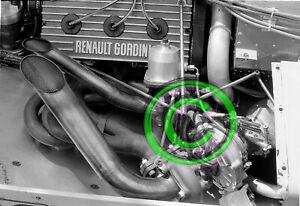 Original 35mm Negative F1 Renault RE30 EF1 V6 Turbo 1.5L  1981 Monaco Formula 1