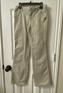 Girl's JUSTICE For Girls Khaki Pants Size 14s Flared School Uniform
