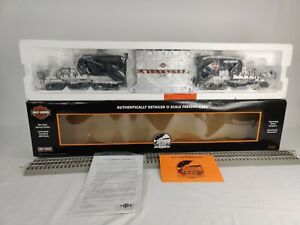 "MTH Electric Trains Harley-Davidson Schnabel Flatcar 20-98492 ""New In Box!!!"""
