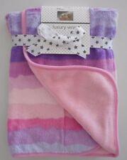 Couvertures de lit rose pour bébé
