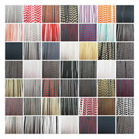 FLANGED PIPING TRIMMING *46 STYLES* UPHOLSTERY TRIM EDGING BRAID :UK SELLER