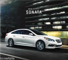 2015 15  Hyundai  Sonata   original  brochure MINT