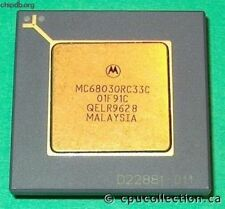 MOTOROLA MC68030RC33C PGA ENHANCED 32-BIT MICROPROCESSOR Chip