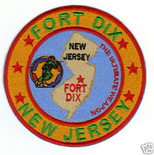 """US ARMY POST PATCH, FORT DIX NEW JERSEY """"THE ULTIMATE WEAPON""""                  Y"""