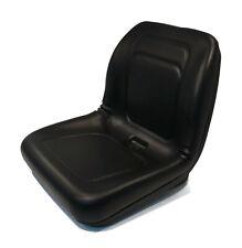 "Black High Back Seat for Hustler 4500, 4600, 60"" Deck 3-Way, Zeon 42"" Lawn Mower"