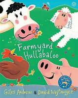 Farmyard Hullabaloo! (Orchard Picturebooks) by Giles Andreae, Good Book (Paperba