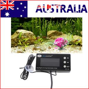 Reptile Thermostat Digital Aquarium Timer LCD Cooling Heating Temp Controller