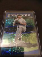Panini Prizm Quick Pitch Gerrit Cole Brilliance Blue Base SP /199 Yankees